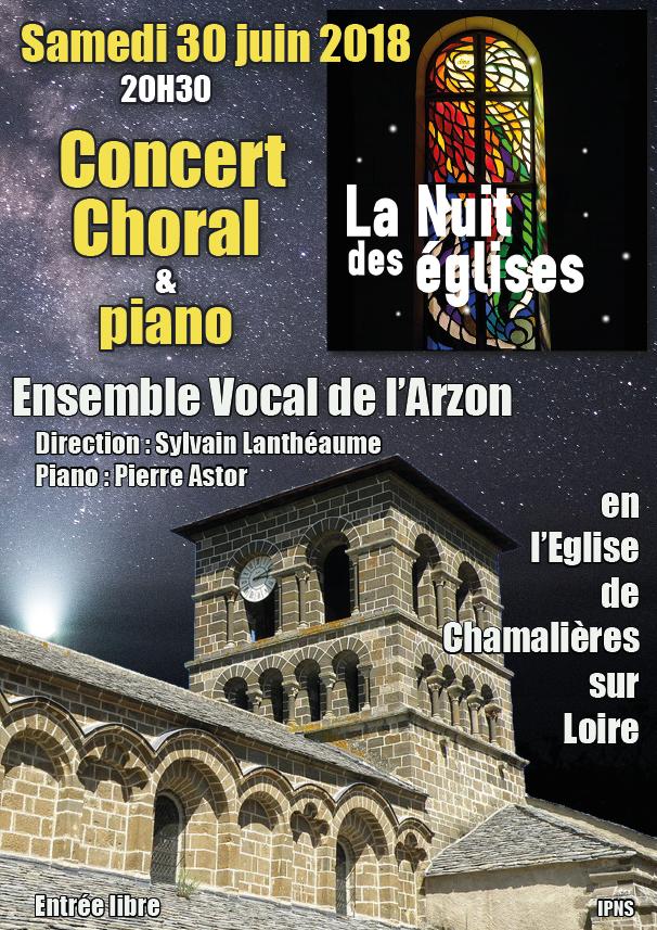 ENVOL'ART Concert Chamalères sur Loire 30 juin 2018 - Affiche B V2